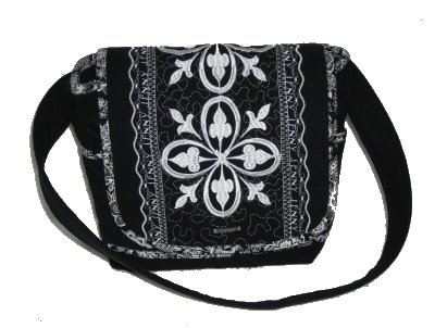 Fabric Quilted Shoulder Bag